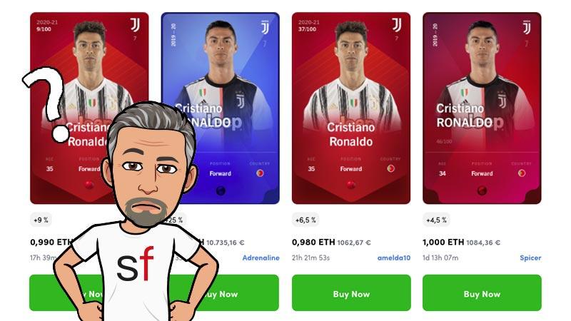 Cristiano Ronaldo cards